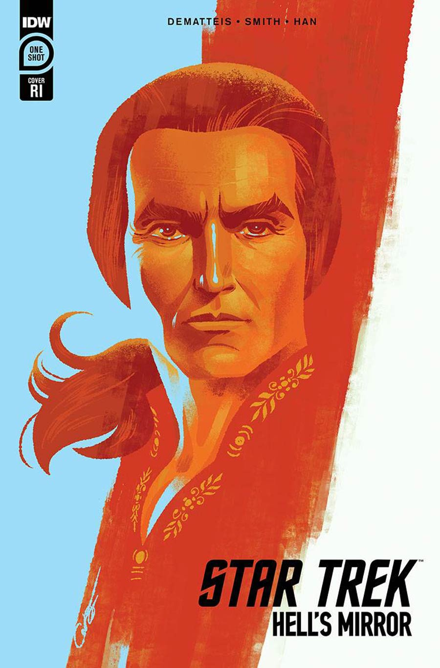 Star Trek Hells Mirror Cover B Incentive George Caltsoudas Variant Cover