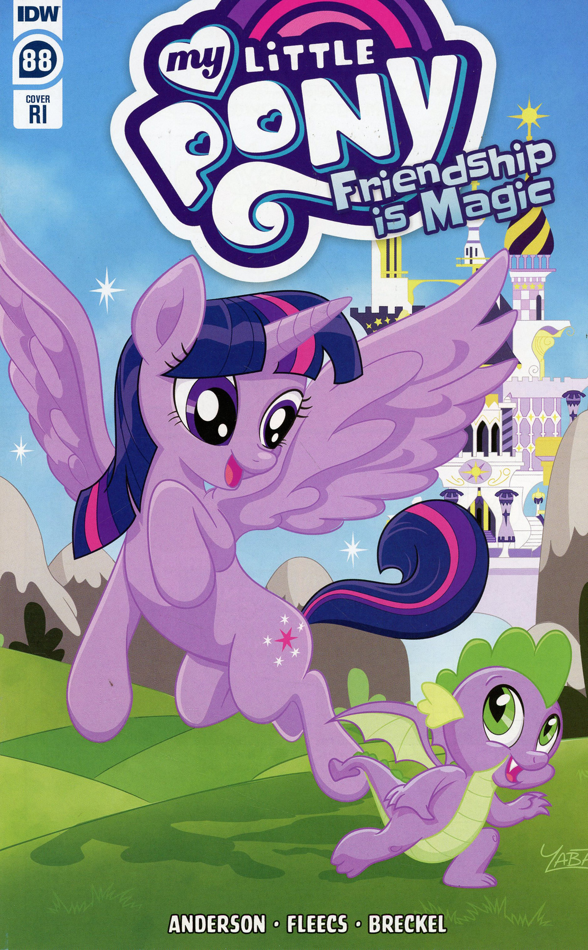 My Little Pony Friendship Is Magic #88 Cover C Incentive Yancey Labat Variant Cover