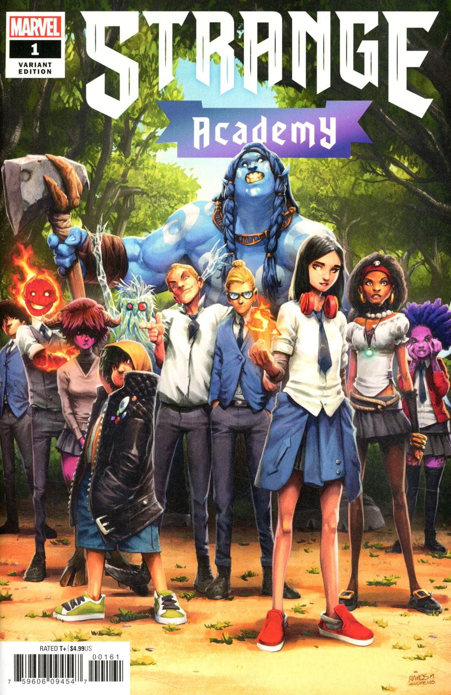 Strange Academy #1 Cover F Incentive Humberto Ramos Design Variant Cover
