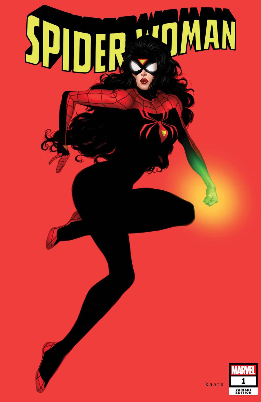 Spider-Woman Vol 7 #1 Cover L Incentive Kaare Andrews Variant Cover