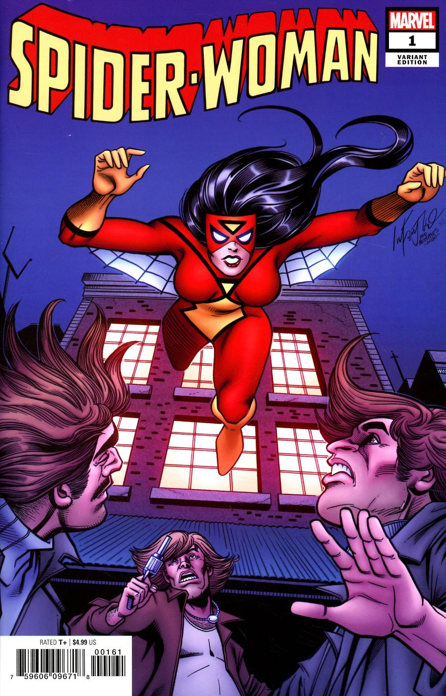 Spider-Woman Vol 7 #1 Cover M Incentive Carmine Infantino Hidden Gem Variant Cover