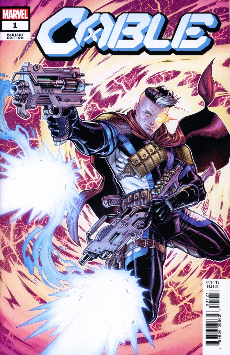 Cable Vol 4 #1 Cover E Incentive Nick Bradshaw Variant Cover (Dawn Of X Tie-In)