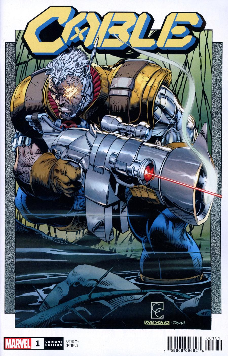Cable Vol 4 #1 Cover F Incentive Greg Capullo Hidden Gem Variant Cover (Dawn Of X Tie-In)
