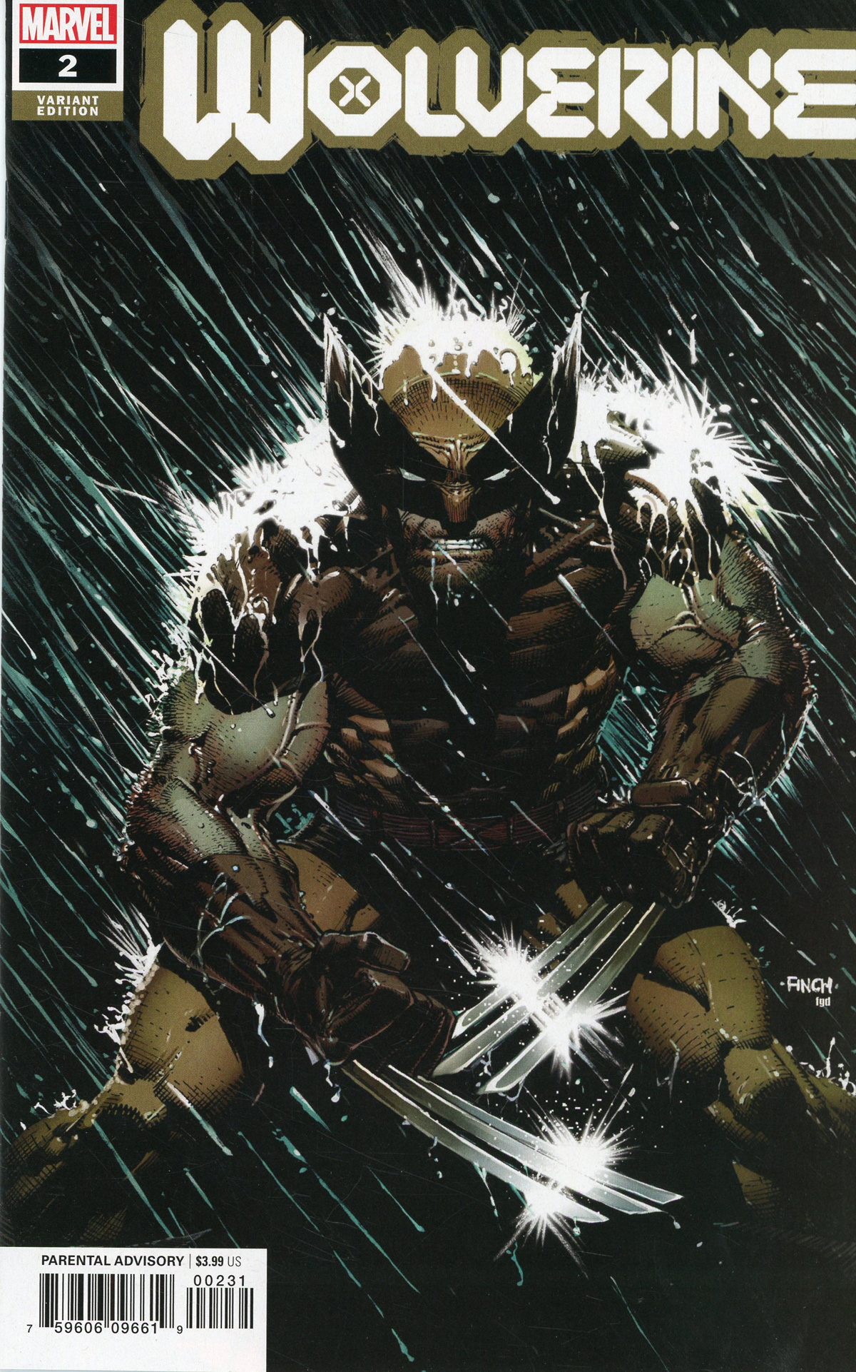 Wolverine Vol 7 #2 Cover D Incentive David Finch Variant Cover (Dawn Of X Tie-In)