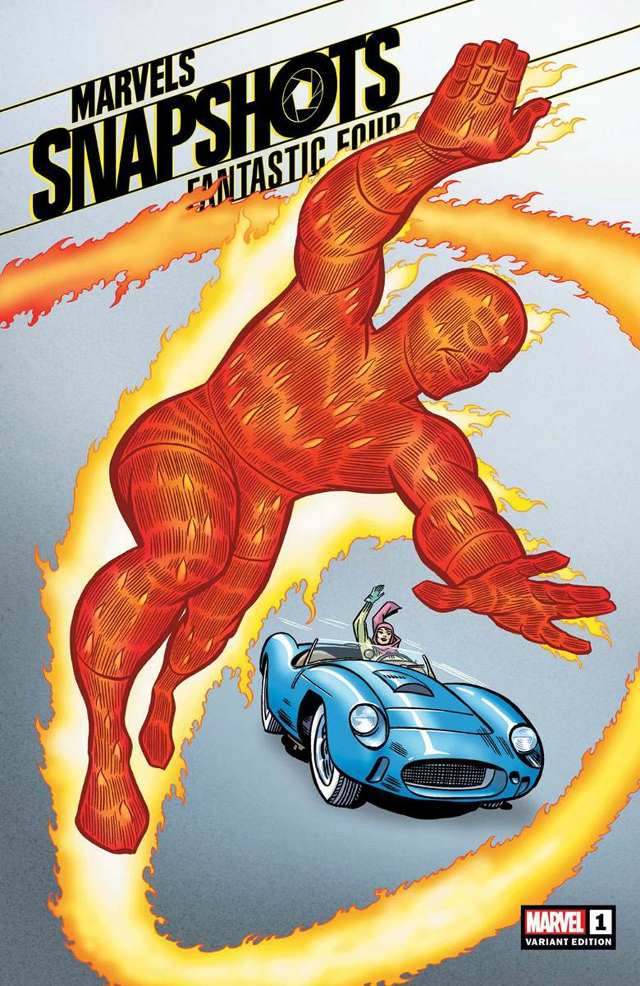 Fantastic Four Marvels Snapshots #1 Cover C Incentive Jack Kirby Hidden Gem Variant Cover