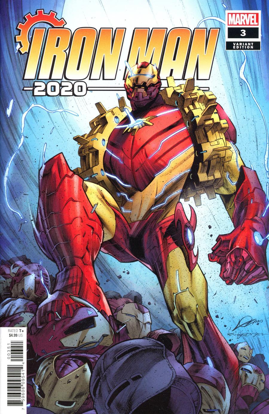 Iron Man 2020 #3 Cover E Incentive Alexander Lozano Variant Cover