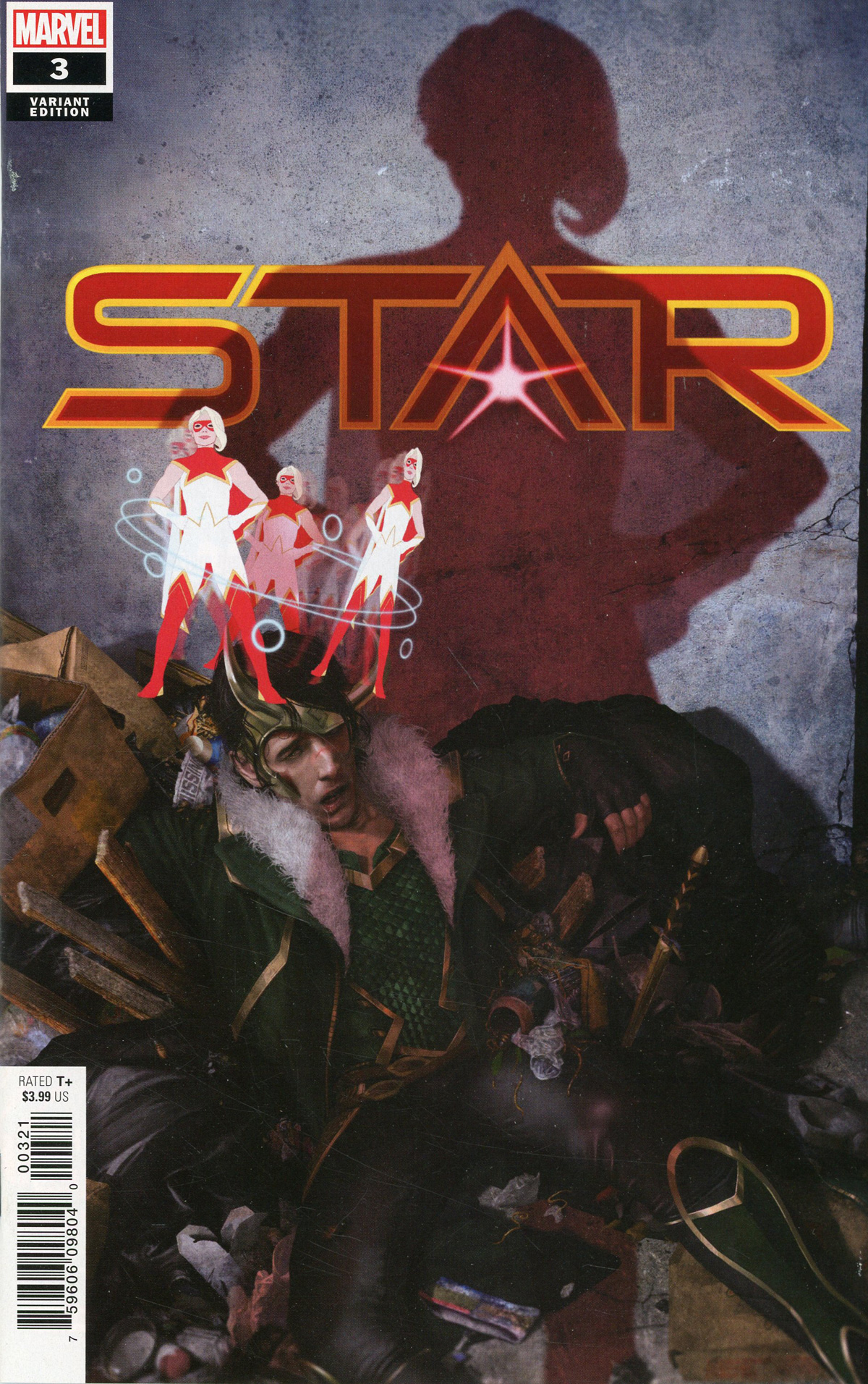 Star #3 Cover B Incentive Rahzzah Variant Cover