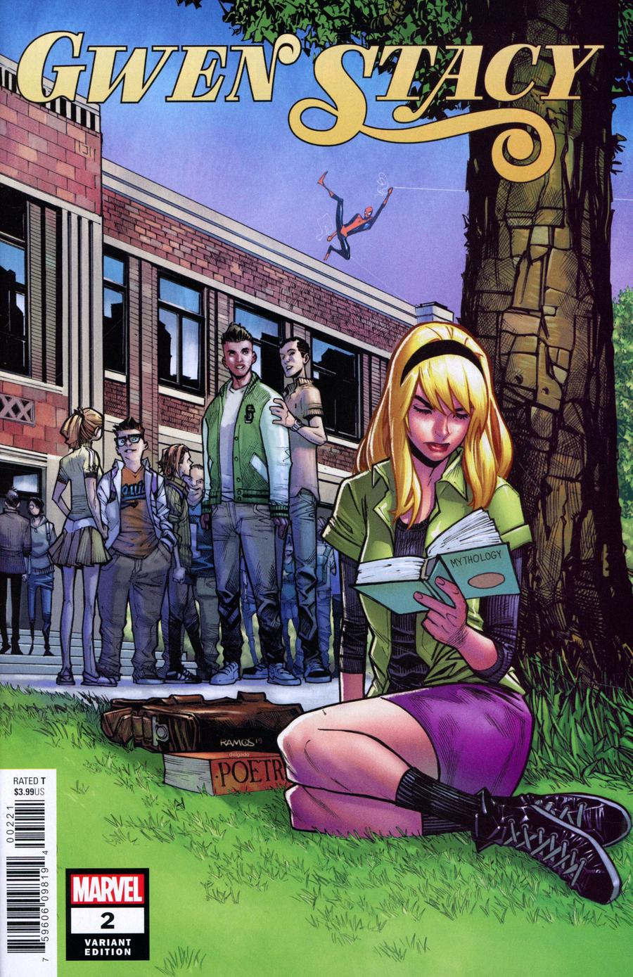 Gwen Stacy #2 Cover C Incentive Humberto Ramos Variant Cover