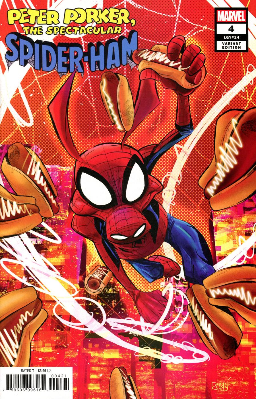 Spider-Ham #4 Cover B Incentive Javier Rodriguez Variant Cover