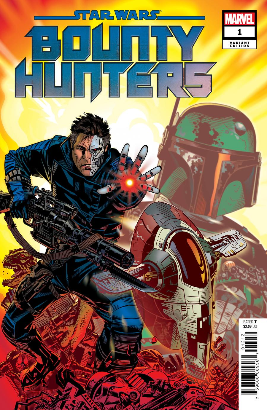 Star Wars Bounty Hunters #1 Cover E Incentive Michael Golden Variant Cover