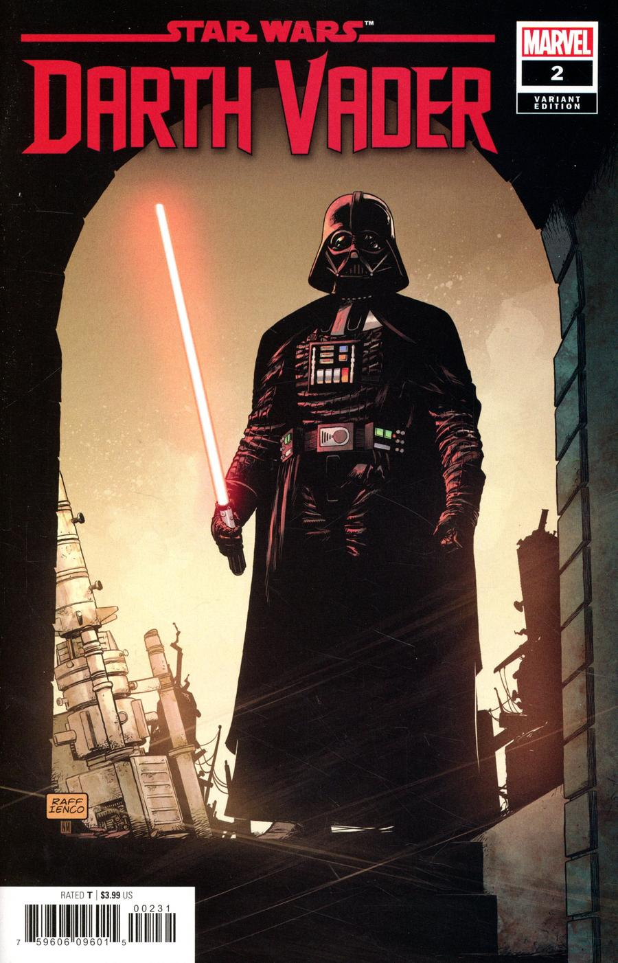 Star Wars Darth Vader #2 Cover C Incentive Raffaele Ienco Variant Cover