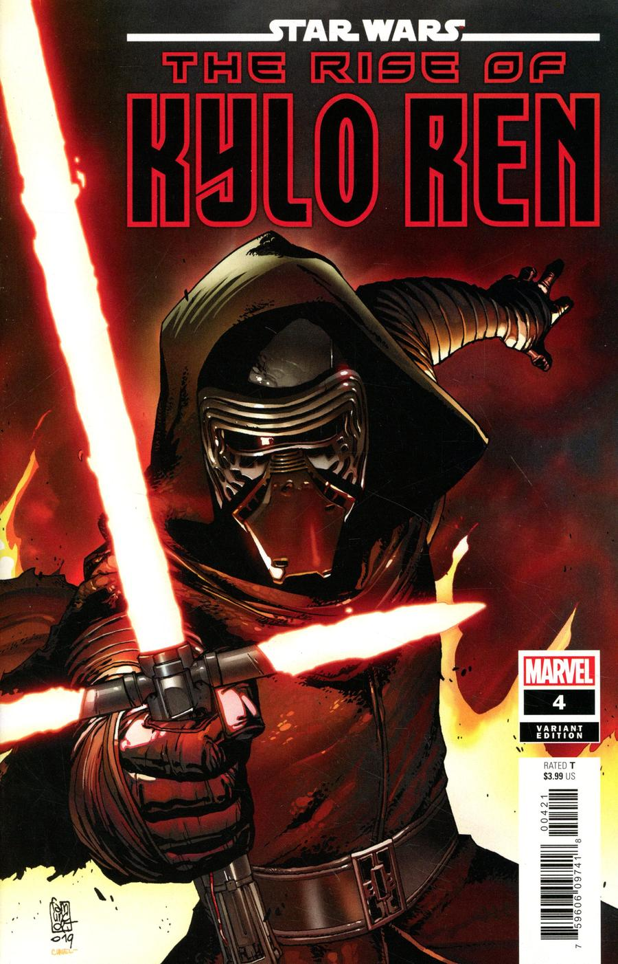 Star Wars Rise Of Kylo Ren #4 Cover B Incentive Giuseppe Camuncoli Variant Cover