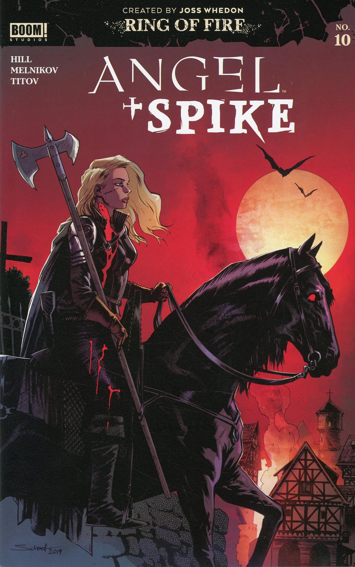 Angel & Spike #10 Cover E Incentive Jonas Scharf Variant Cover