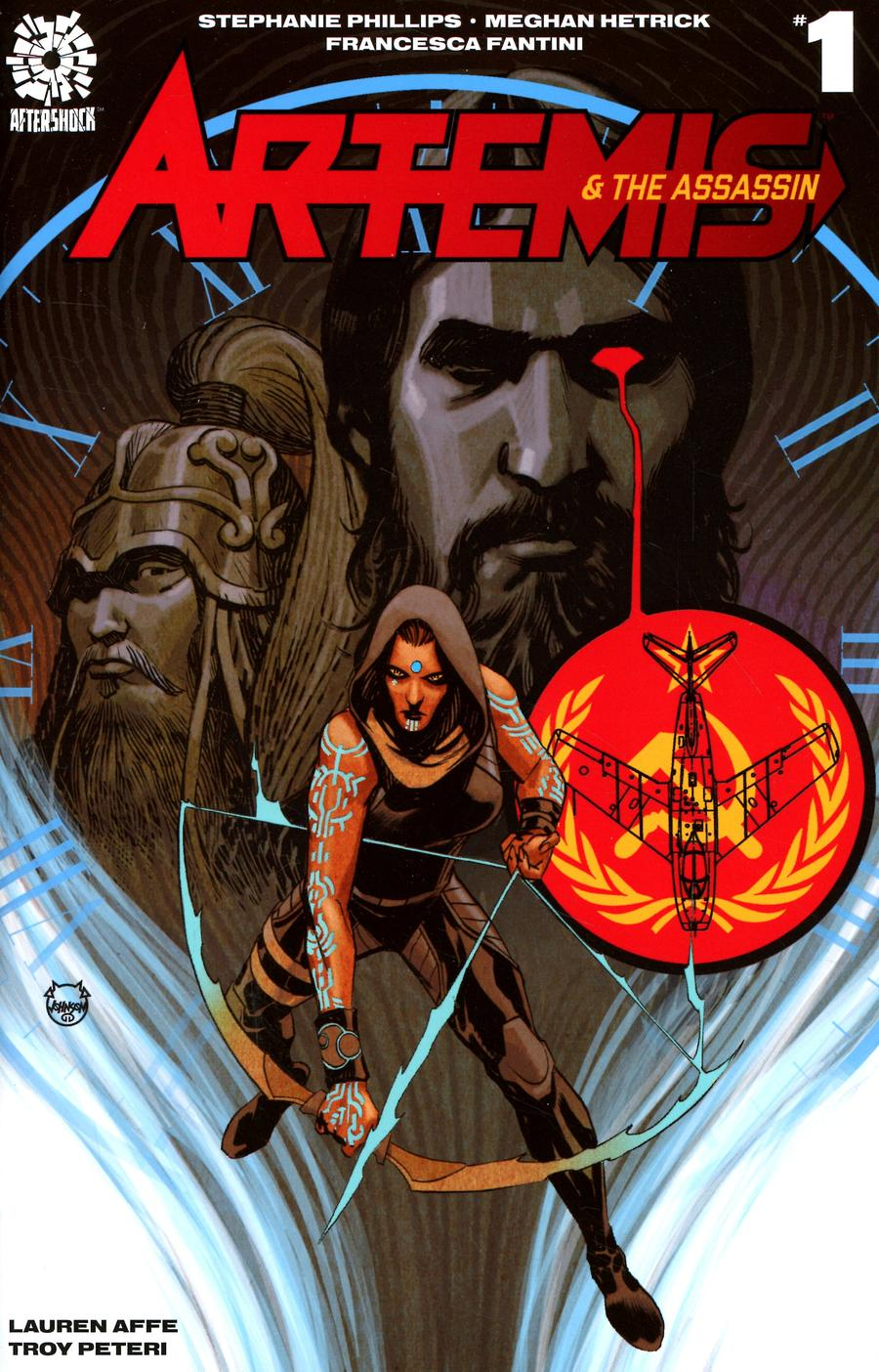 Artemis And The Assassin #1 Cover B Incentive Dave Johnson Variant Cover