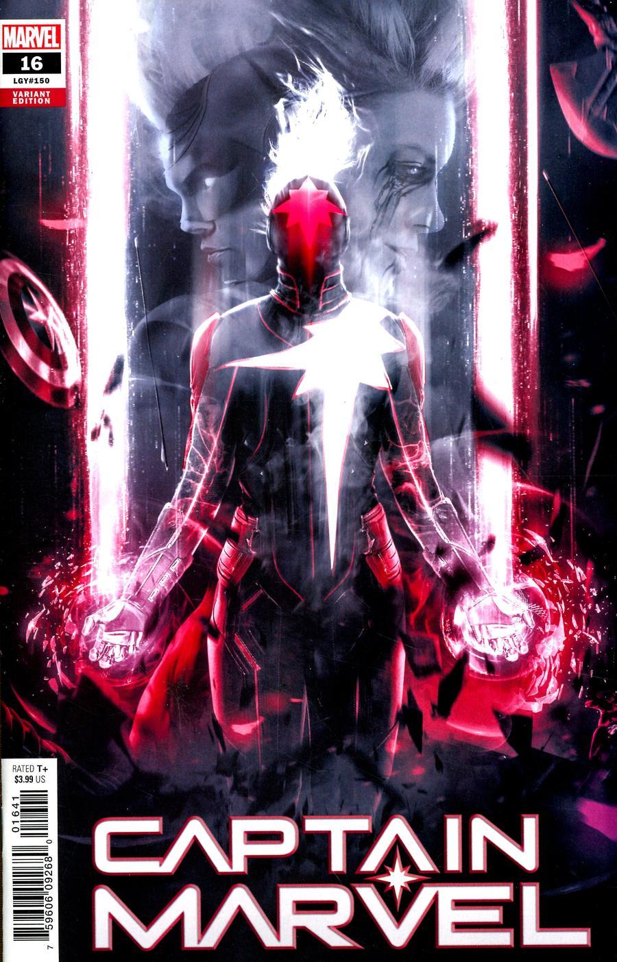 Captain Marvel Vol 9 #16 Cover D Variant Boss Logic Cover