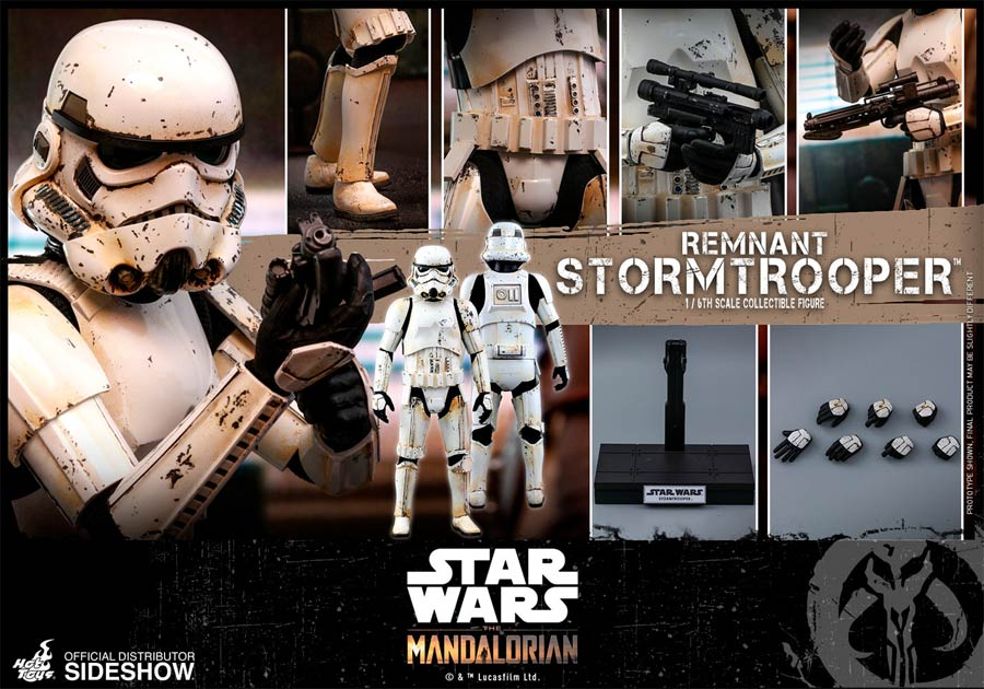 Star Wars The Mandalorian Remnant Stormtrooper Sixth Scale Figure