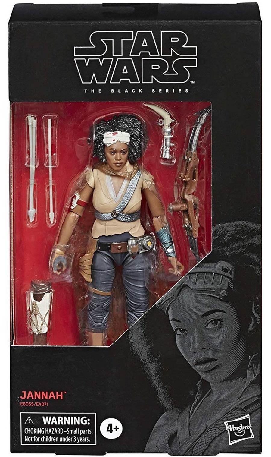 Star Wars Black Series 6-Inch Action Figure #98 Jannah