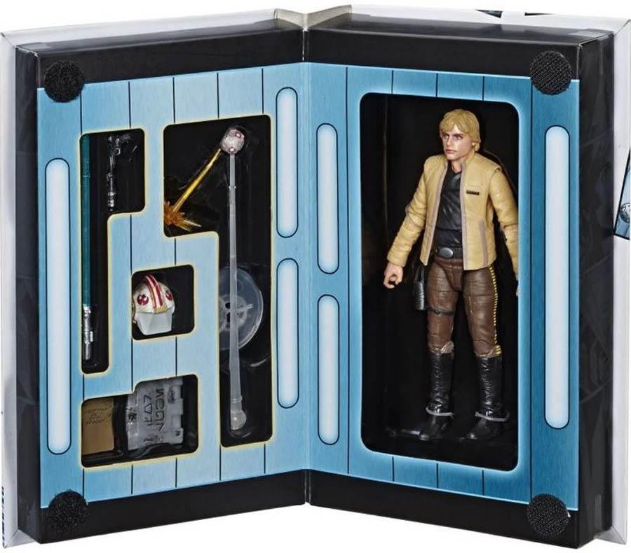 Star Wars Black Series Deluxe 6-Inch Action Figure - Convention Exclusive Luke Skywalker (Skywalker Strikes)