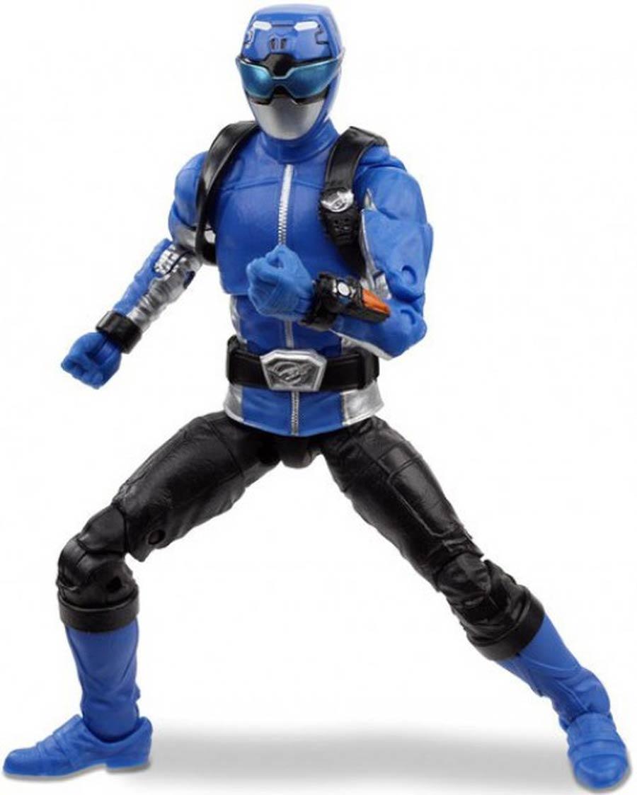 Power Rangers Lightning Series 6-Inch Action Figure - Beast Morphers Blue Ranger