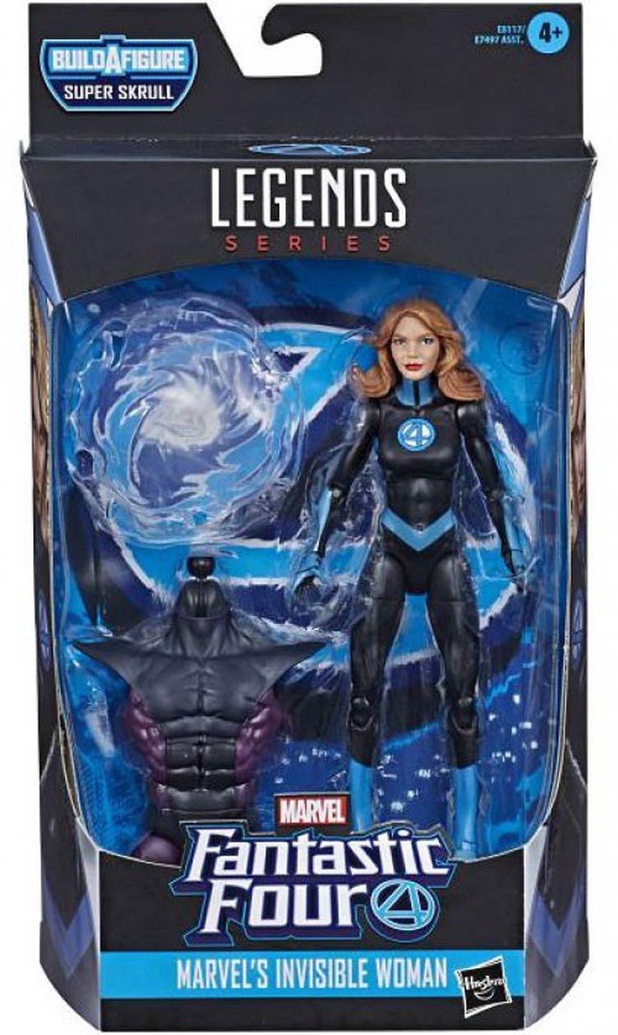 Marvel Fantastic Four Legends 2019 6-inch Action Figure - Invisible Woman