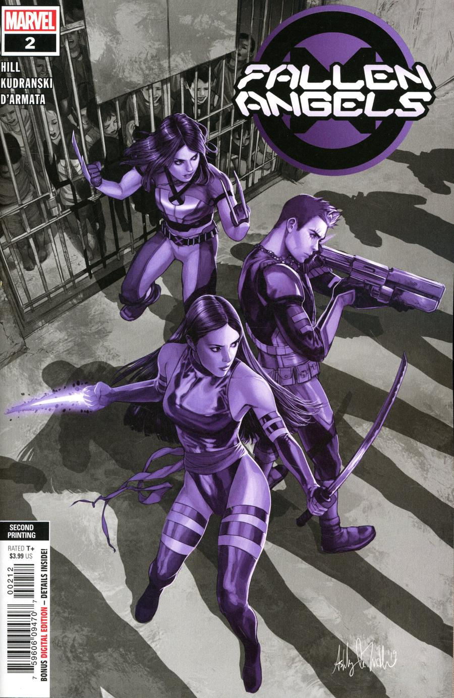 Fallen Angels Vol 2 #2 Cover C 2nd Ptg Variant Ashley Witter Cover (Dawn of X Tie-In)