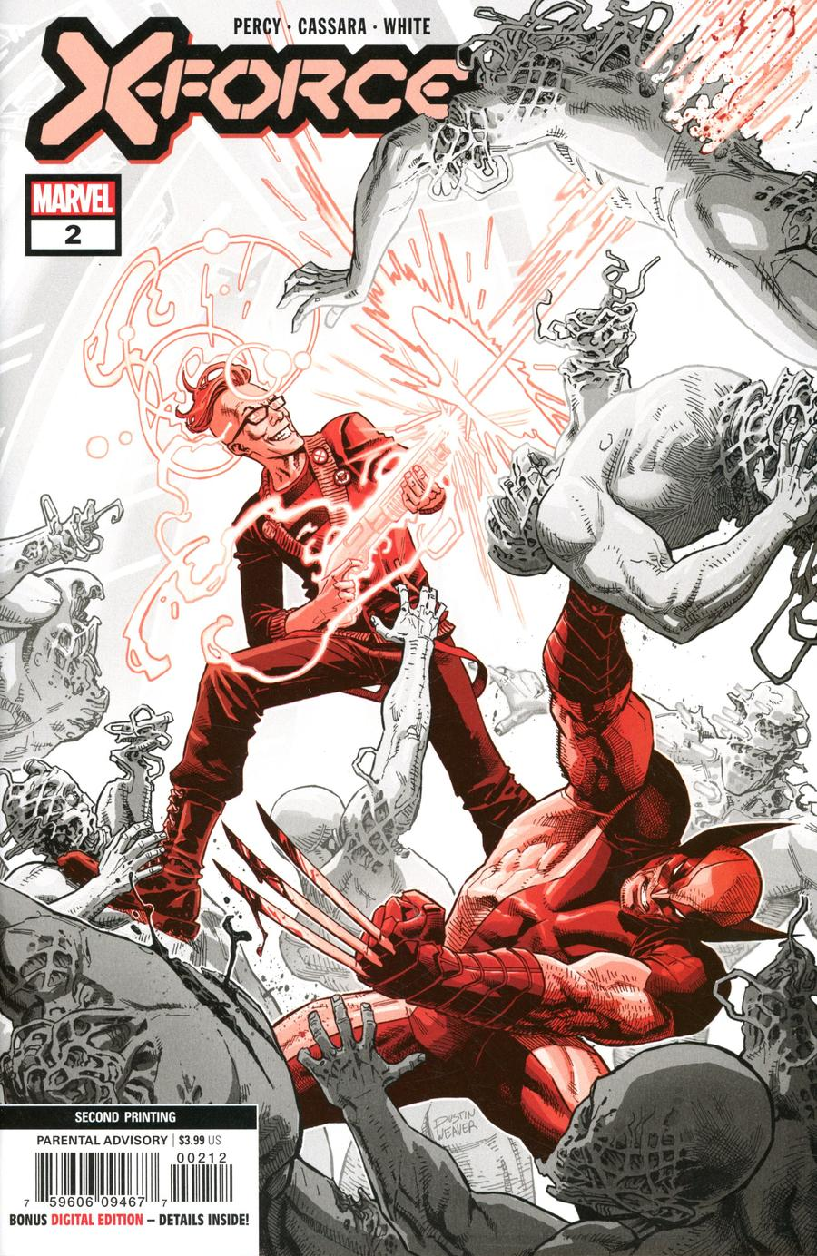X-Force Vol 6 #2 Cover C 2nd Ptg Variant Dustin Weaver Cover (Dawn of X Tie-In)