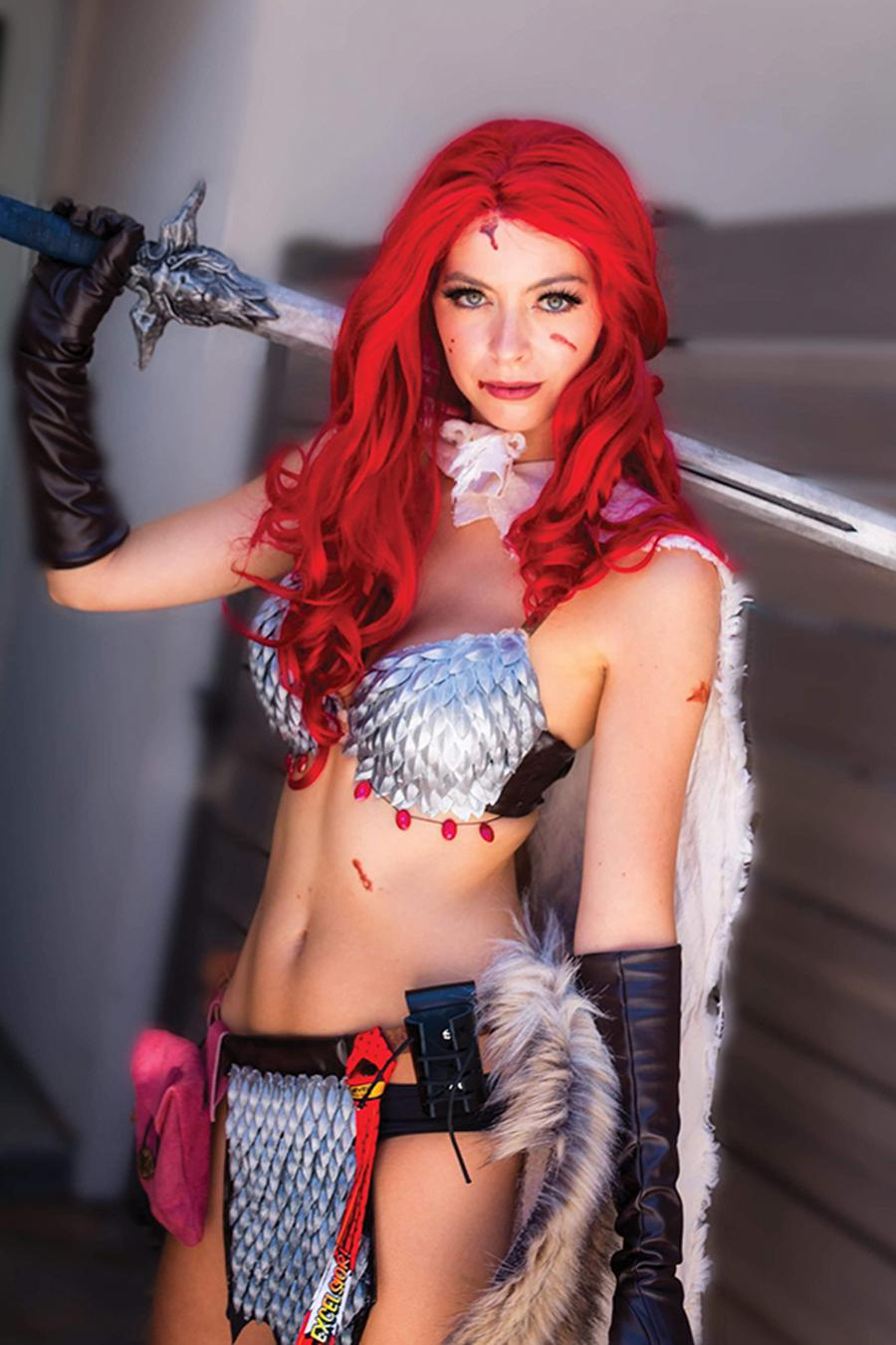 Red Sonja Vol 8 #12 Cover I Incentive Cosplay Photo Virgin Cover