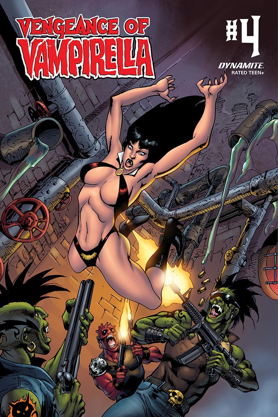 Vengeance Of Vampirella Vol 2 #4 Cover E Variant Roberto Castro Cover