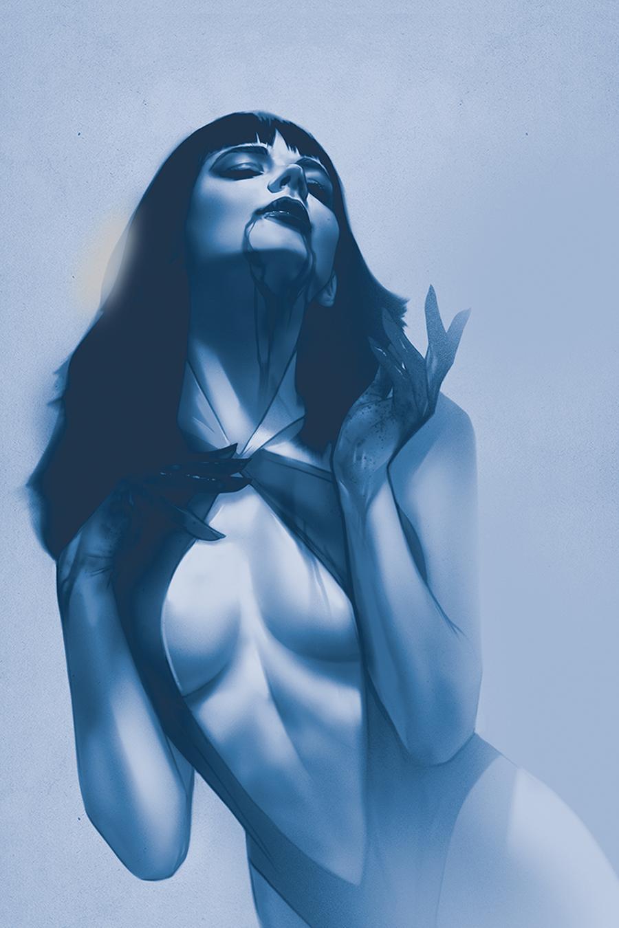 Vengeance Of Vampirella Vol 2 #4 Cover F Incentive Ben Oliver Virgin Tint Cover
