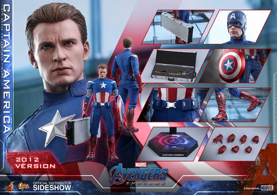 Avengers Endgame Captain America 2012 Version Sixth Scale Figure