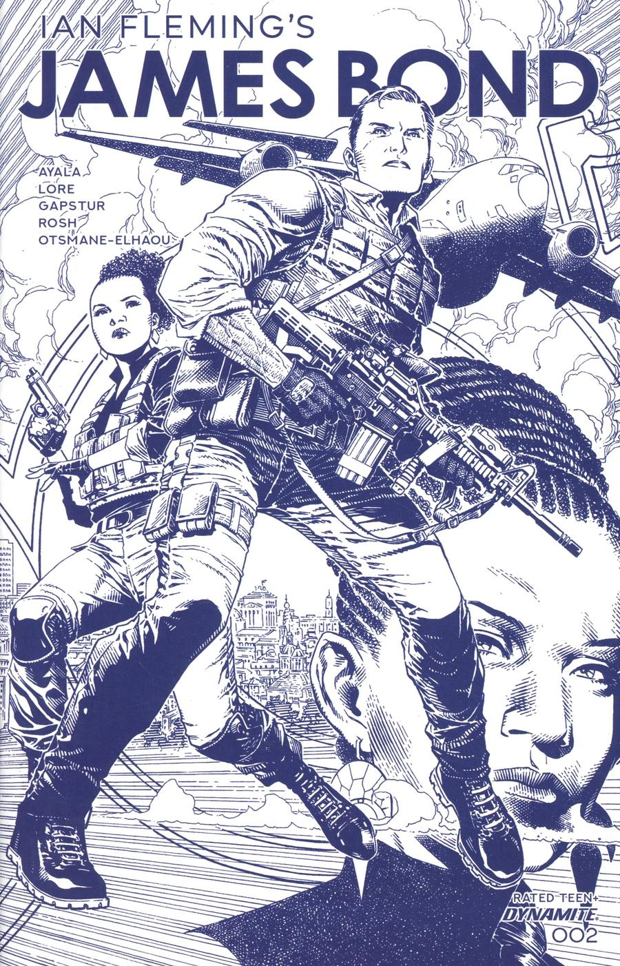James Bond Vol 3 #2 Cover C Incentive Jim Cheung Tint Dressed Cover