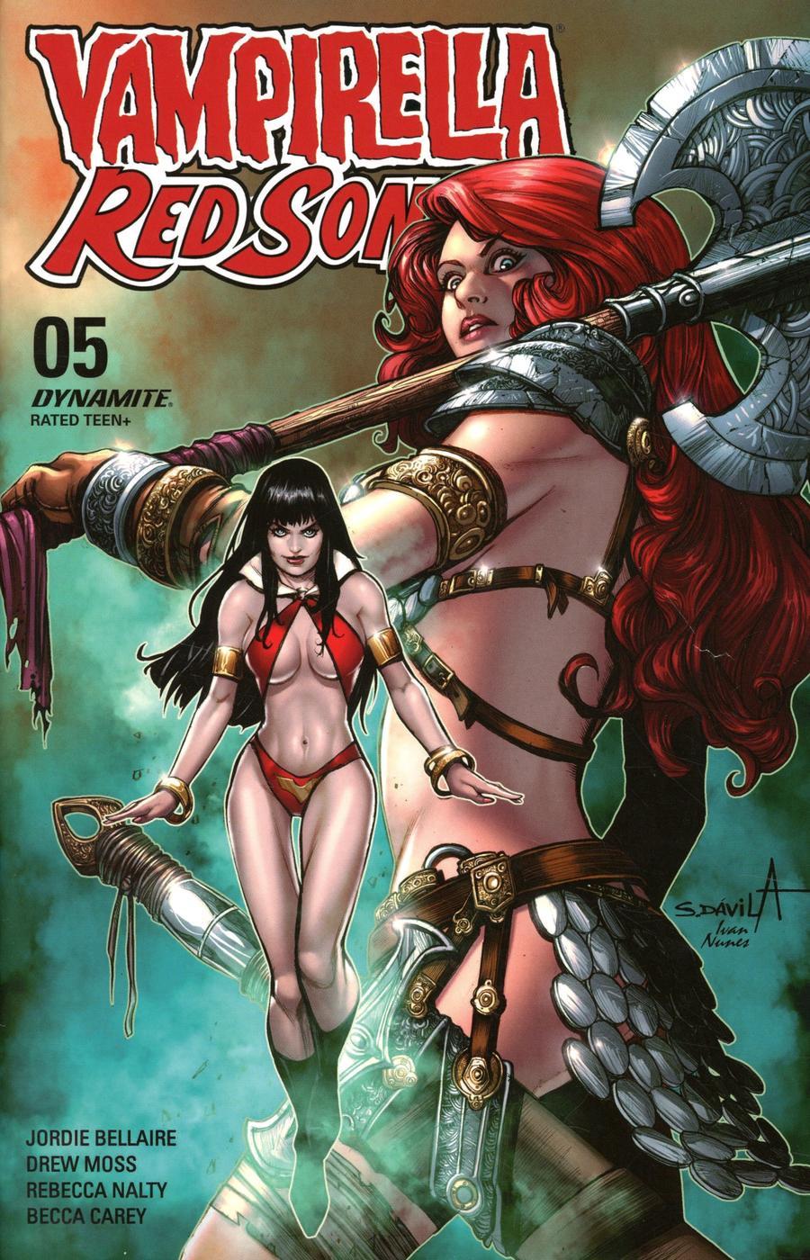 Vampirella Red Sonja #5 Cover G Variant Sergio Davila Cover