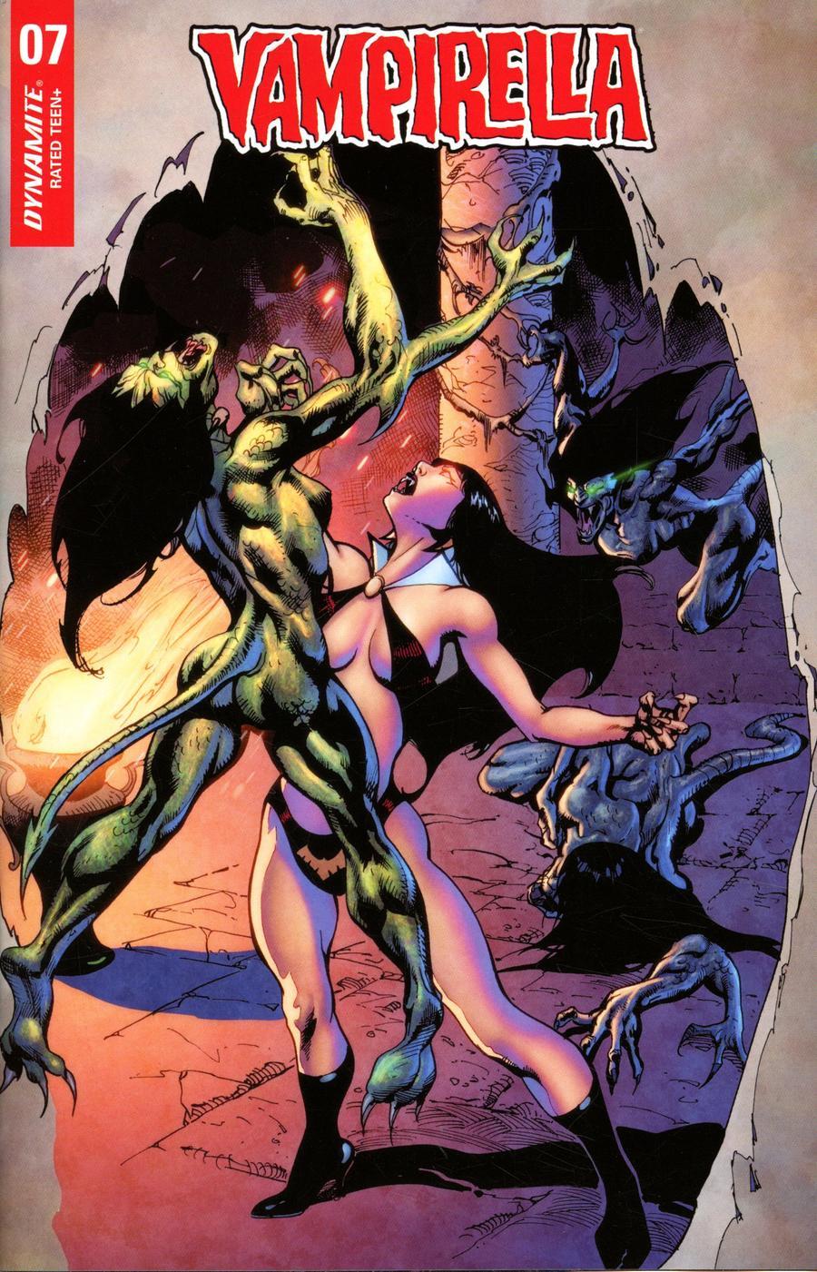 Vampirella Vol 8 #7 Cover F Variant Roberto Castro Cover