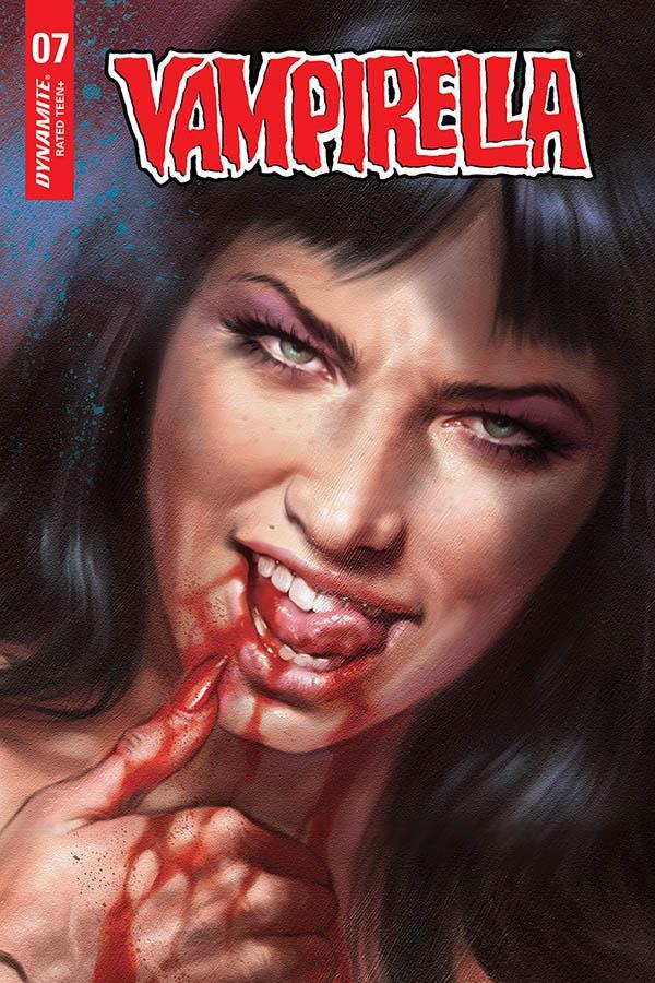Vampirella Vol 8 #7 Cover N Incentive Lucio Parrillo Sneak Peek Variant Cover
