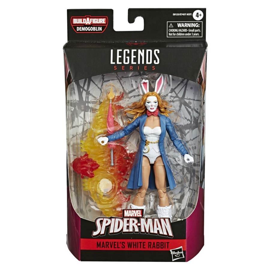 Marvel Spider-Man Legends 2020 6-inch Action Figure - White Rabbit