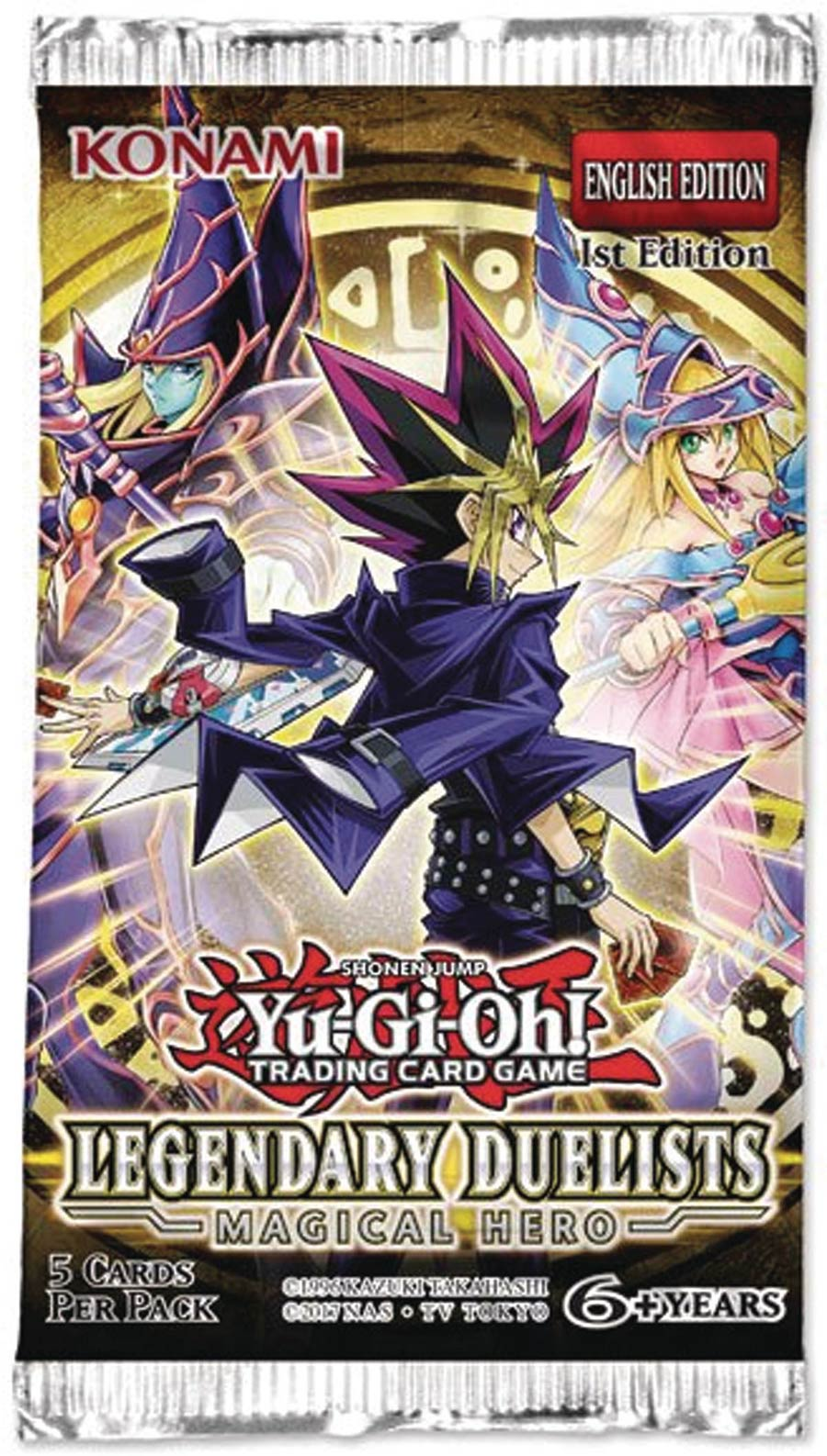 Yu-Gi-Oh Legendary Duelist Immortal Magical Hero Booster Pack