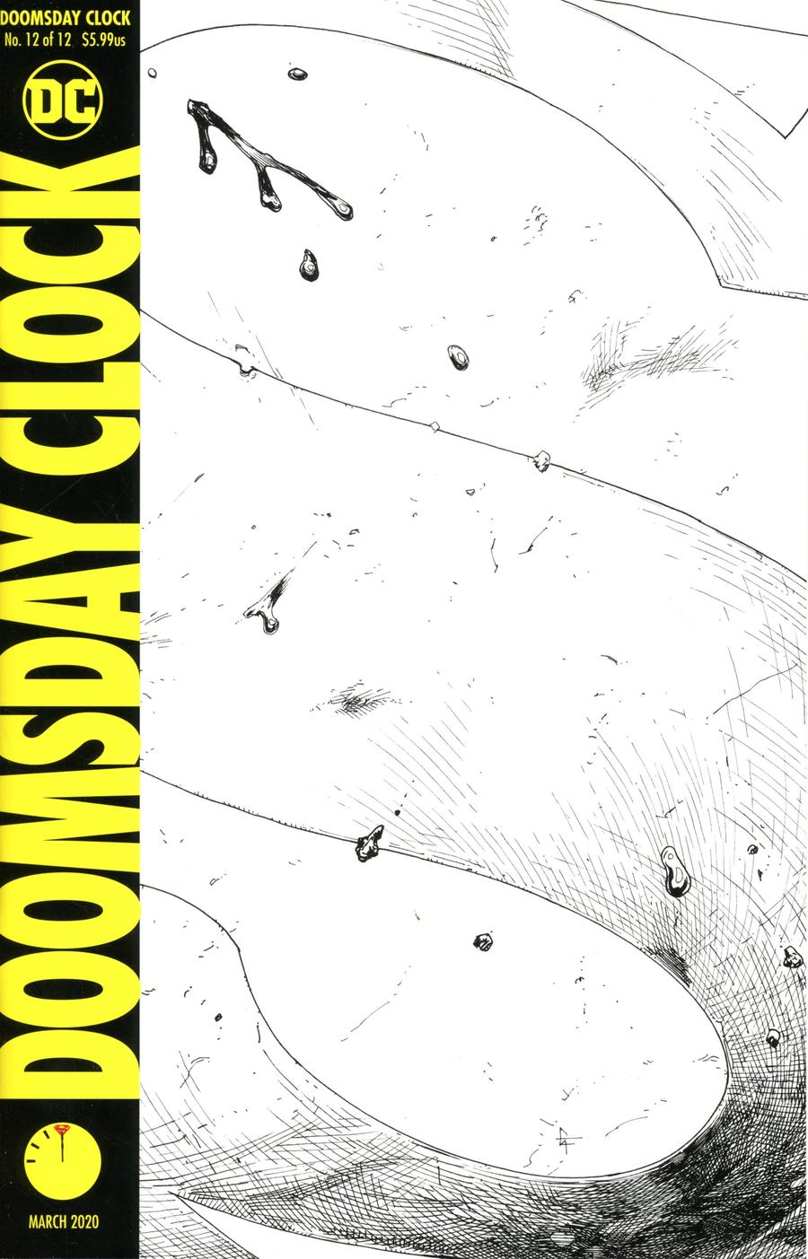 Doomsday Clock #12 Cover E 2nd Ptg