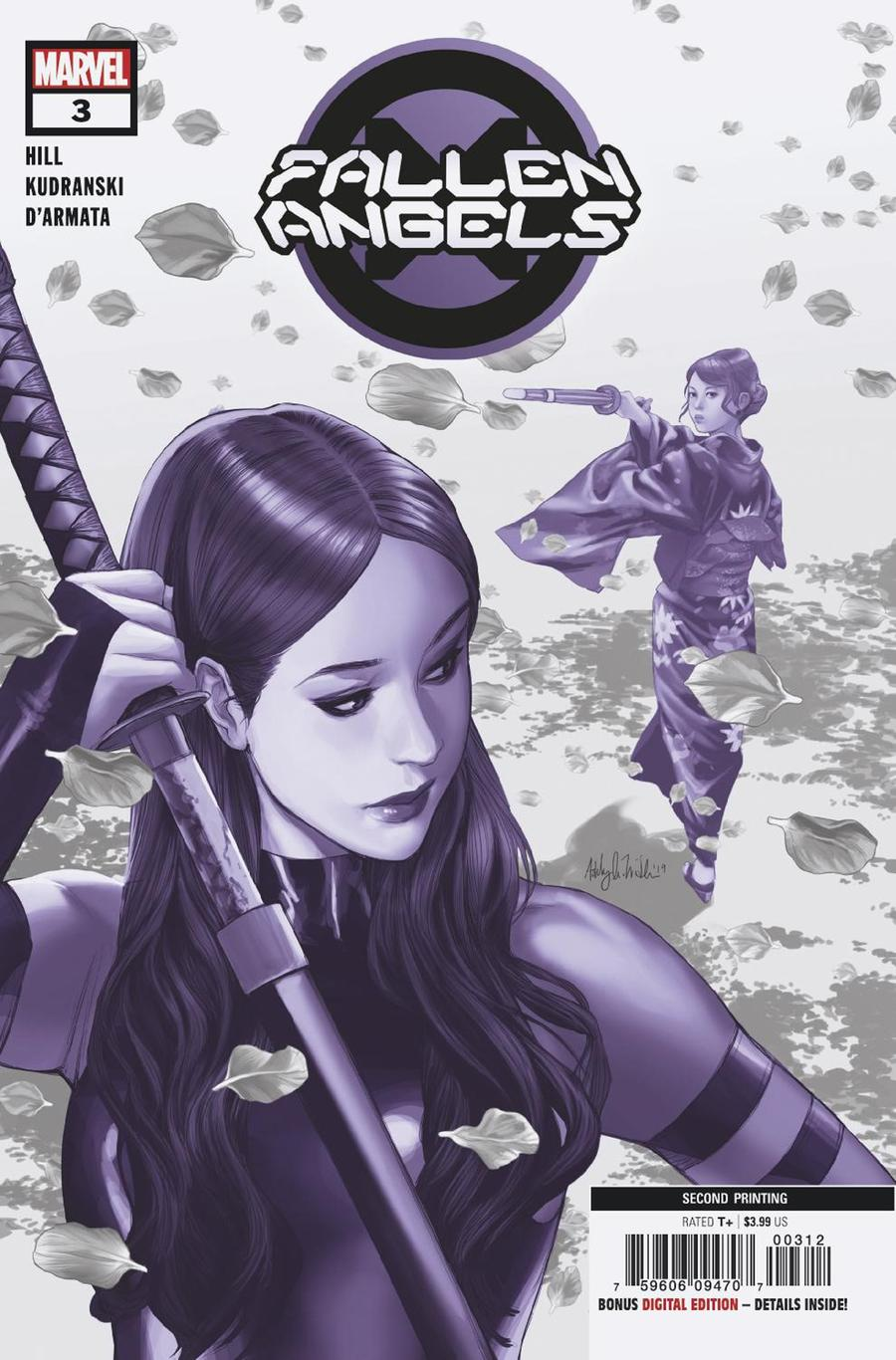 Fallen Angels Vol 2 #3 Cover B 2nd Ptg Ashley Witter Variant Cover (Dawn Of X Tie-In)
