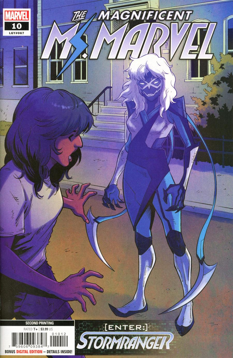 Magnificent Ms Marvel #10 Cover B 2nd Ptg Minkyu Jung Variant Cover
