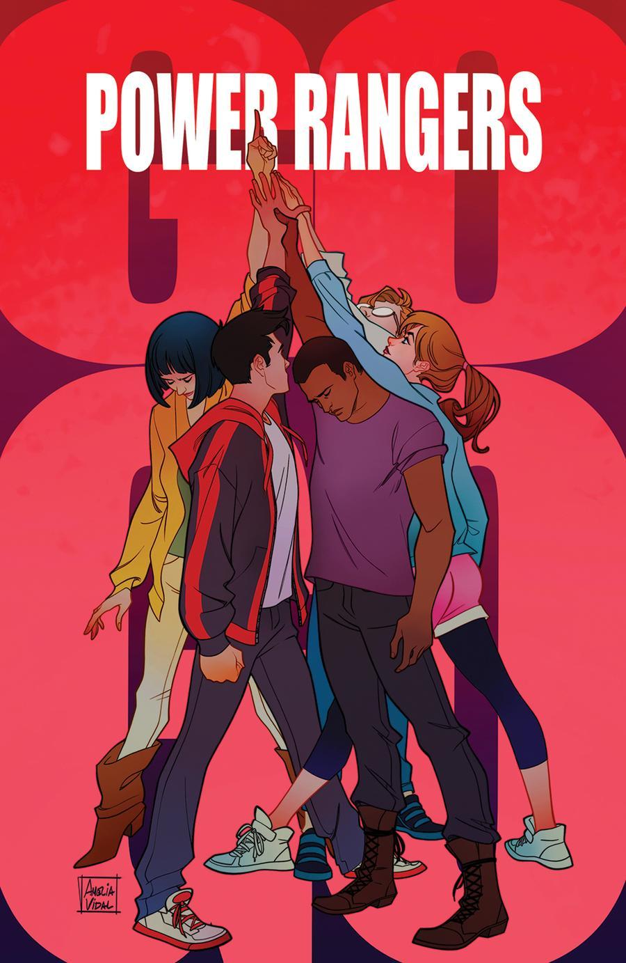 Sabans Go Go Power Rangers #28 Cover D Incentive Amelia Vidal Variant Cover
