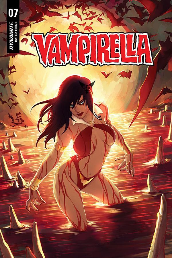 Vampirella Vol 8 #7 Cover Z-A Variant Meghan Hetrick Cover