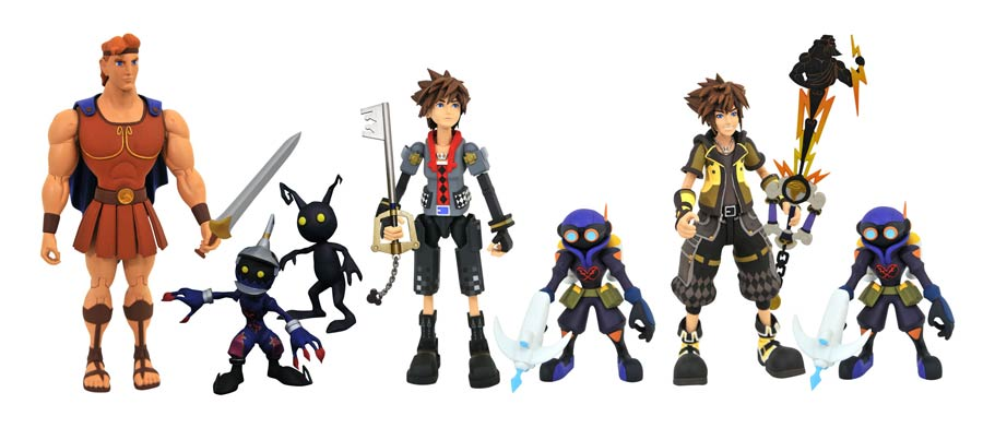Kingdom Hearts III Select Series 2 Action Figure 3-Figure Set