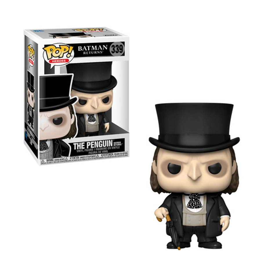POP Heroes Batman Returns Penguin Vinyl Figure