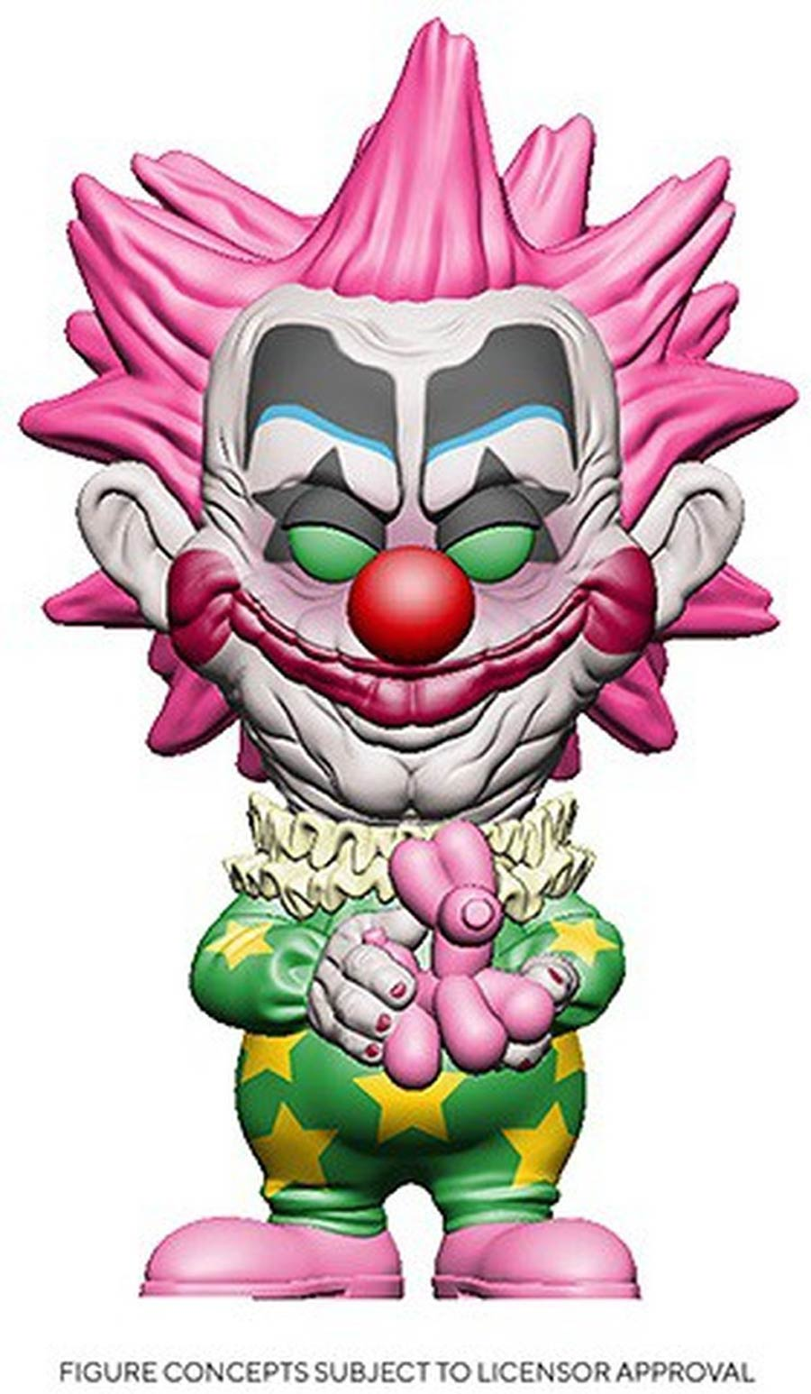 POP Movies Killer Klowns From Outer Space Spikey Vinyl Figure