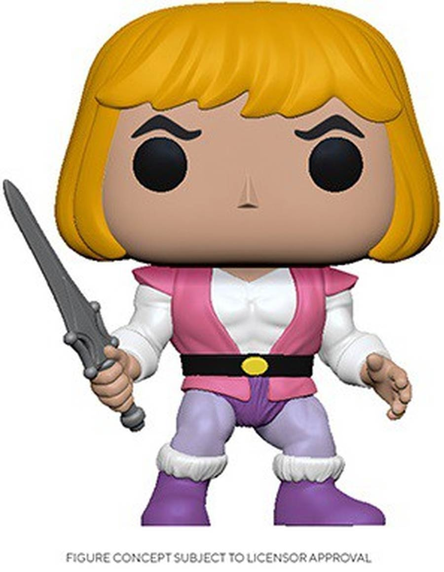 POP Animation Masters Of The Universe Prince Adam Vinyl Figure