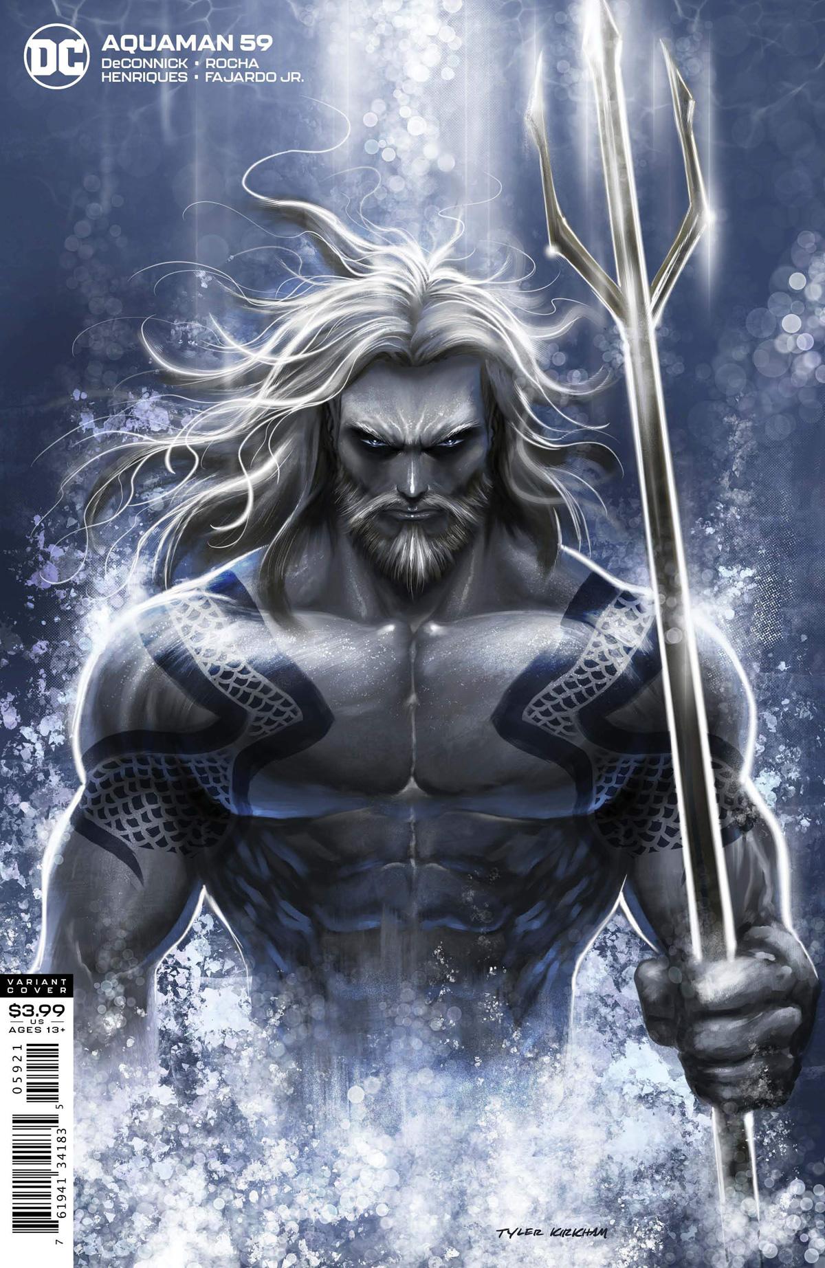 Aquaman Vol 6 #59 Cover B Variant Tyler Kirkham Cover
