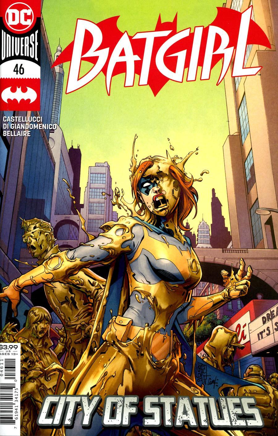 Batgirl Vol 5 #46 Cover A Regular Giuseppe Camuncoli Cover