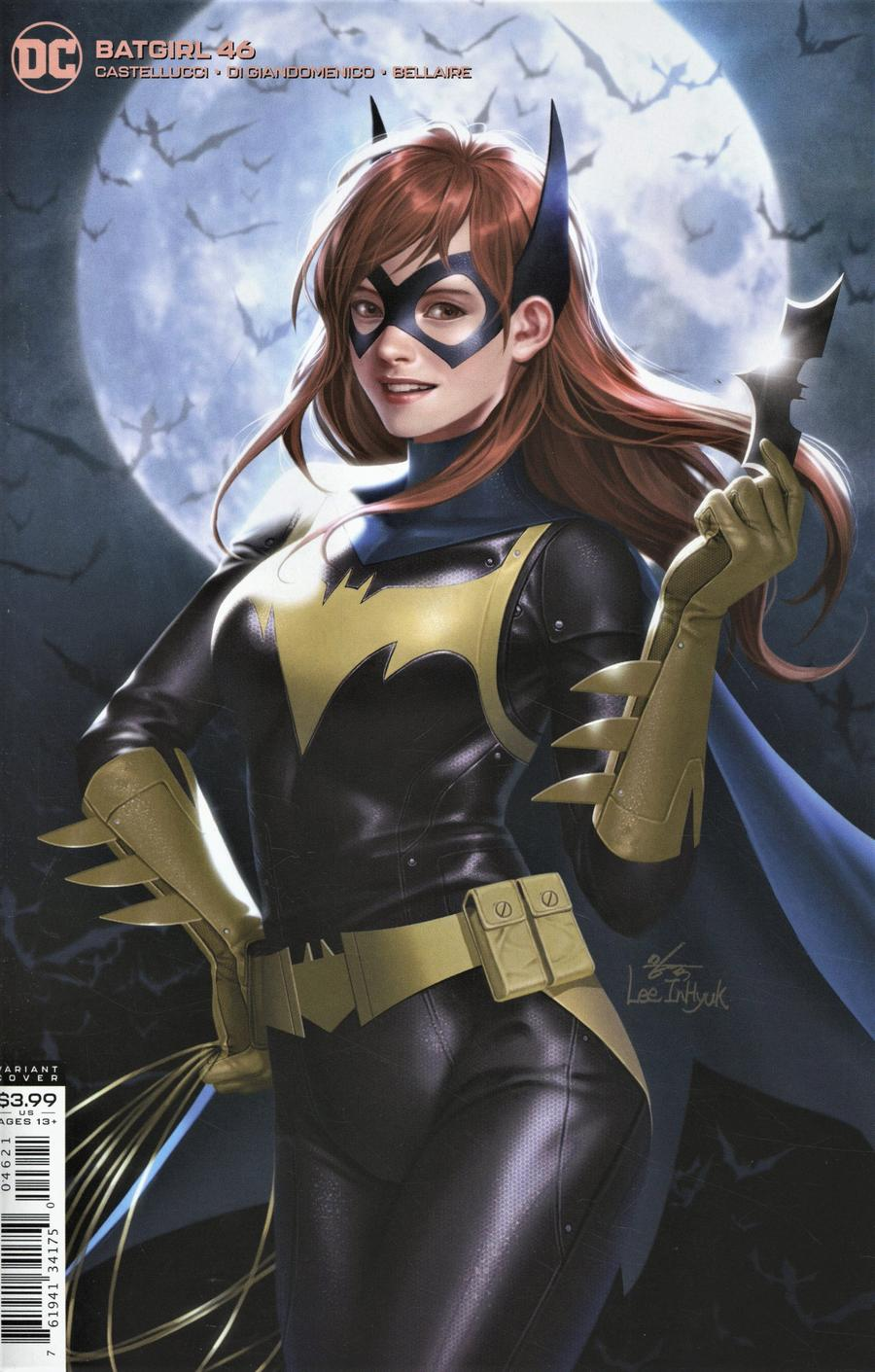 Batgirl Vol 5 #46 Cover B Variant Inhyuk Lee Cover