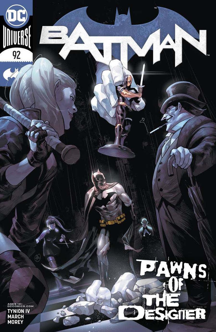 Batman Vol 3 #92 Cover A Regular Yasmine Putri Cover (Limit 1 Per Customer)