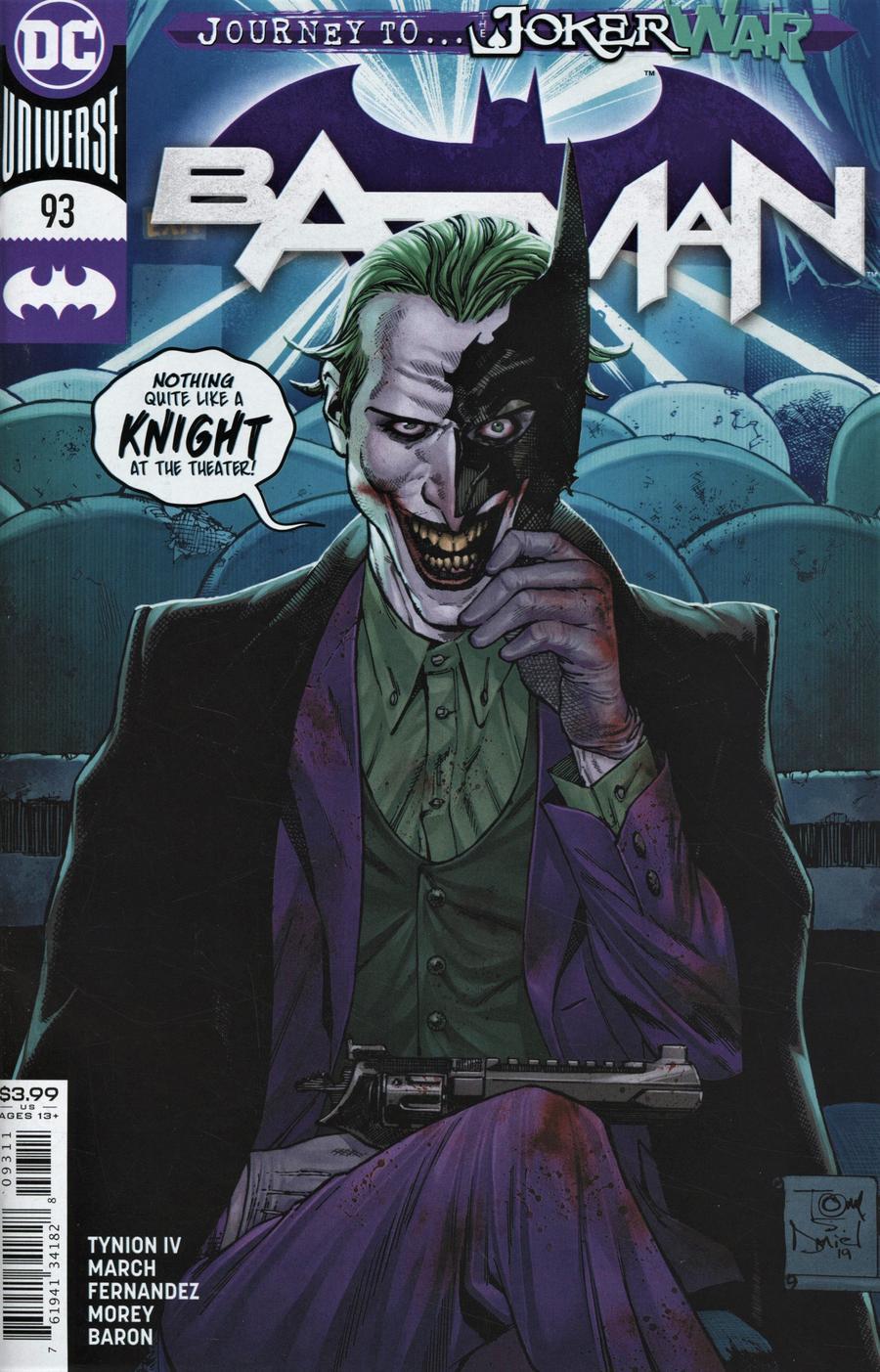Batman Vol 3 #93 Cover A Regular Tony S Daniel Cover